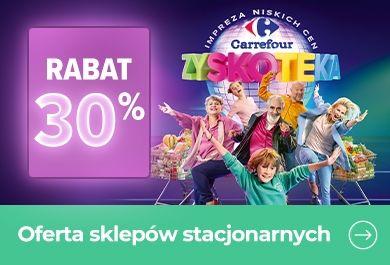 Oferta sklepów stacjonarnych Carrefour
