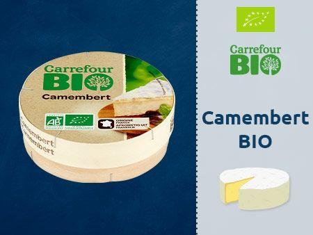 Carrefour Bio Camembert Ser Pleśniowy
