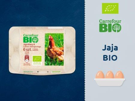 Carrefour Bio Jaja z chowu ekologicznego