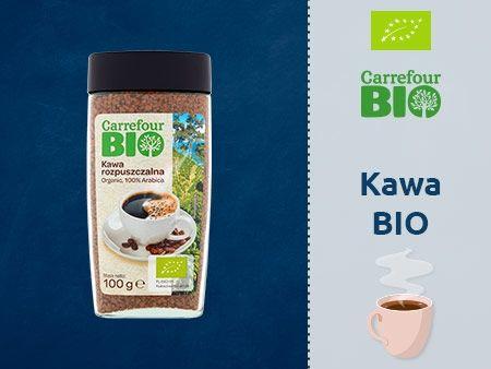 Carrefour Bio Kawa rozpuszczalna