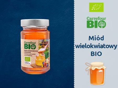 Carrefour Bio Miód wielokwiatowy nektarowy