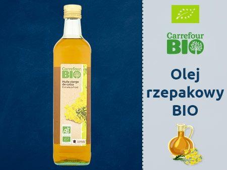 Carrefour Bio Olej rzepakowy