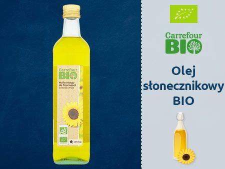Carrefour Bio Olej słonecznikowy