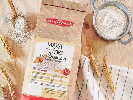 Mąka żytnia pełnoziarnista
