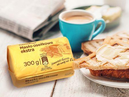 Masło osełkowe extra marki Carrefour