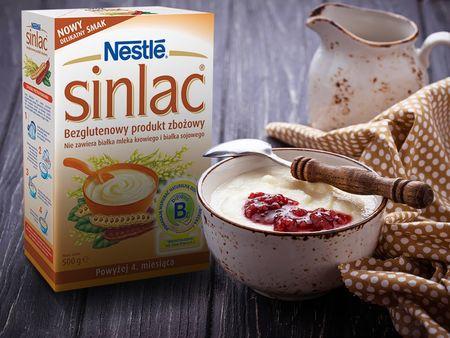 Nestle Sinlac, produkt zbożowy bezglutenowy