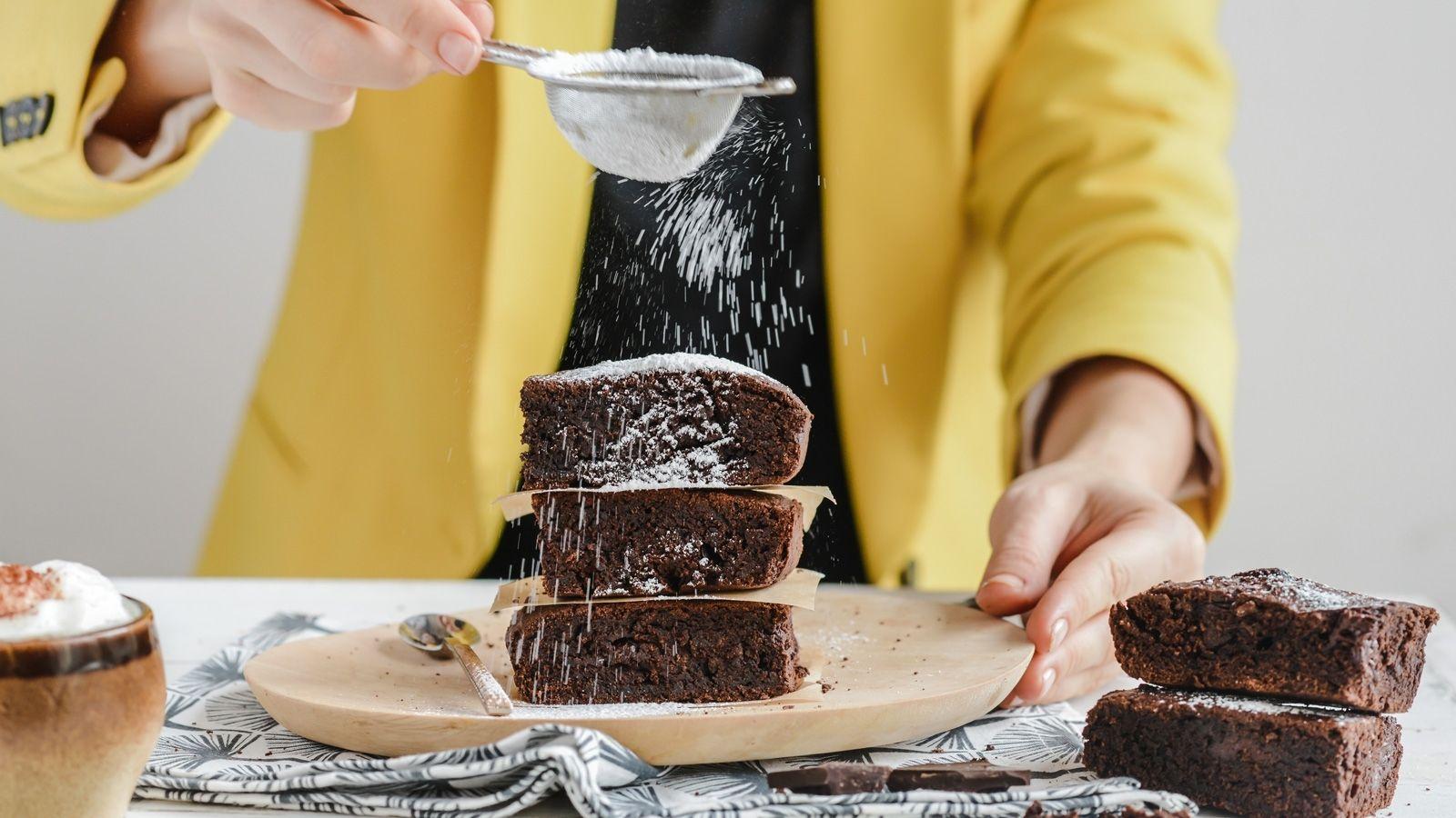 Ciasto brownie z awokado
