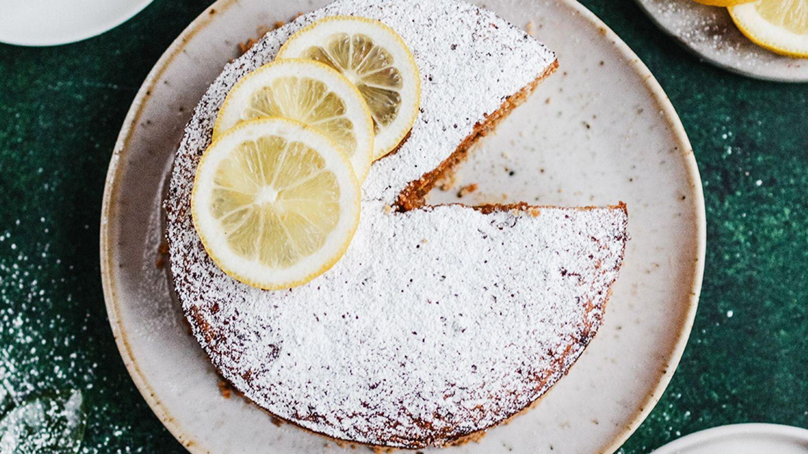 Lekkie ciasto cytrynowo-kokosowe z marakują