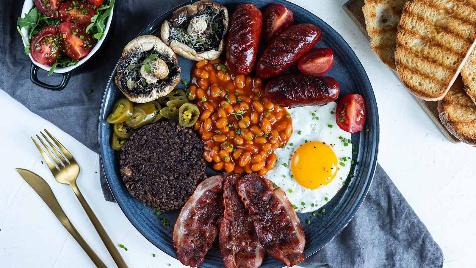 Męskie śniadanie
