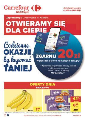 Gazetka Codzienne okazje w sklepie Market Kraków, ul.Fabryczna 11