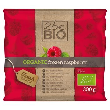 2beBio Bio mrożona malina 300 g