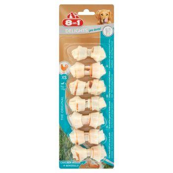 8in1 Delights Pro Dental XS Kości do żucia dla psów 84 g