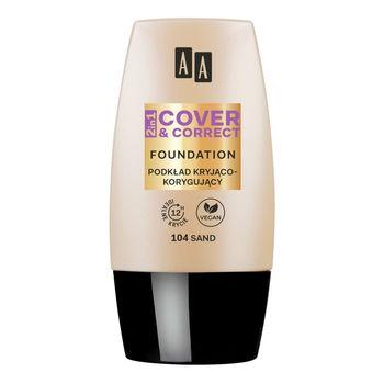AA 2in1 Cover&Correct Podkład kryjąco korygujący 104 Sand 30 ml