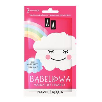 AA Chmurka Bąbelkowa maska do twarzy nawilżająca 8 ml