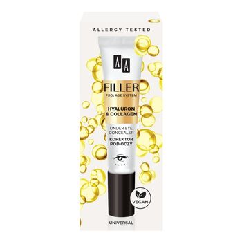 AA Filler Under eye concealer Korektor pod oczy 10 ml