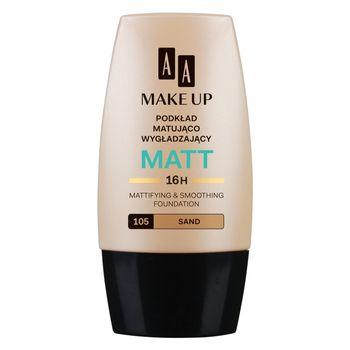 AA Make Up Matt podkład matująco wygładzający 105 sand 30 ml