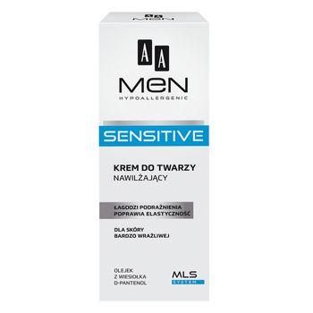AA Men Sensitive Krem nawilżający 75 ml
