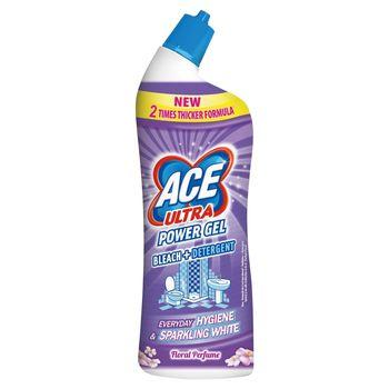 Ace Ultra Power Gel Floral Perfume Odtłuszczający żel z wybielaczem 750 ml