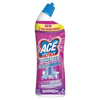 Ace Ultra Power Gel Odtłuszczający żel z wybielaczem 750 ml