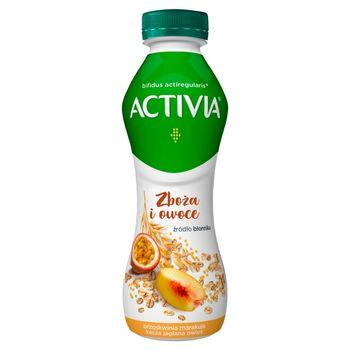 Activia Jogurt brzoskwinia marakuja kasza jaglana owies 280 g