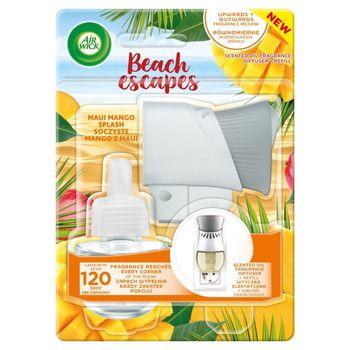 Air Wick Beach Escapes Wtyczka elektryczna i wkład zapachowy soczyste mango z Maui 19 ml