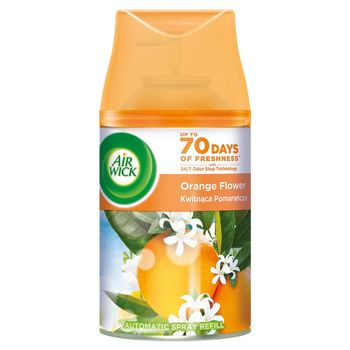 Air Wick Wkład do automatycznego odświeżacza powietrza kwitnąca pomarańcza 250 ml