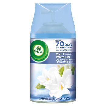 Air Wick Wkład do automatycznego odświeżacza powietrza orzeźwiająca bawełna kwiat migdałowca 250 ml