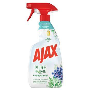 Ajax PURE HOME Szałwia i Kwiat Czarnego Bzu Środek czyszczący do łazienki spray 500 ml