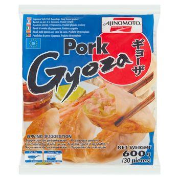 Ajinomoto Gyoza Japońskie pierogi z wieprzowiną 600 g (30 sztuk)