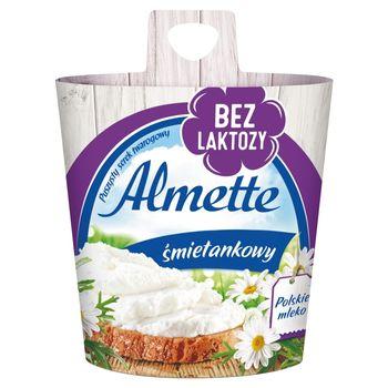 Almette Puszysty serek twarogowy śmietankowy bez laktozy 150 g