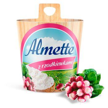 Almette Puszysty serek twarogowy z rzodkiewkami 150 g