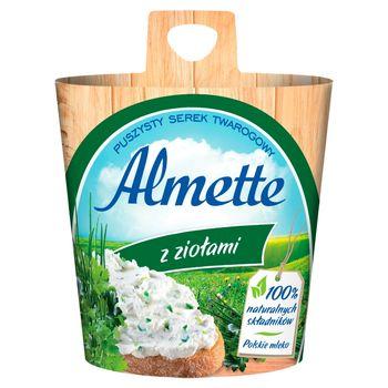 Almette z ziołami Puszysty serek twarogowy 150 g