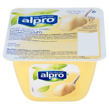 Alpro Deser sojowy o smaku waniliowym 125 g