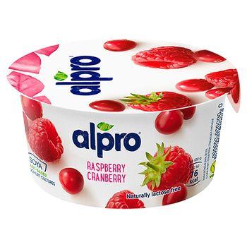 Alpro Jogurt sojowy malina-żurawina 150 g
