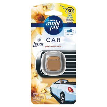 Ambi Pur Car Gold Orchid Zestaw startowy samochodowego odświeżacza powietrza, 1 sztuka