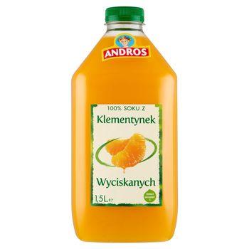 Andros 100% sok z klementynek wyciskanych 1,5 l