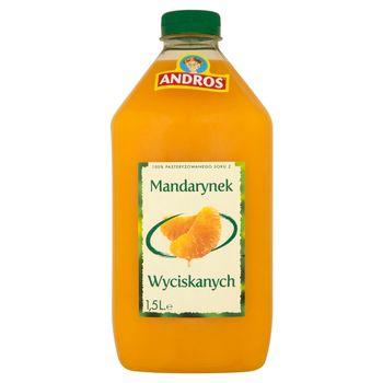 Andros 100% Sok z mandarynek wyciskanych 1,5 l