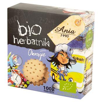Ania Bio herbatniki okrągłe 100 g