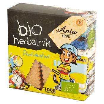 Ania Bio herbatniki prostokątne 100 g