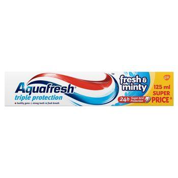 Aquafresh Triple Protection Fresh & Minty Pasta do zębów 125 ml