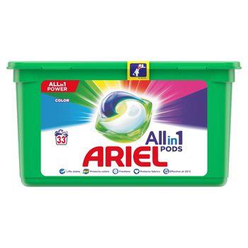 Ariel Allin1 Pods Color Kapsułki do prania, 33prań