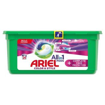 Ariel Allin1 Pods +Complete Fiber Protection Kapsułki do prania, 24prań