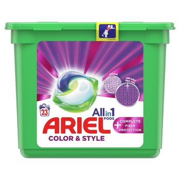 Ariel Allin1 PODS +Fiber Care Protection Kapsułki do prania, 23prań