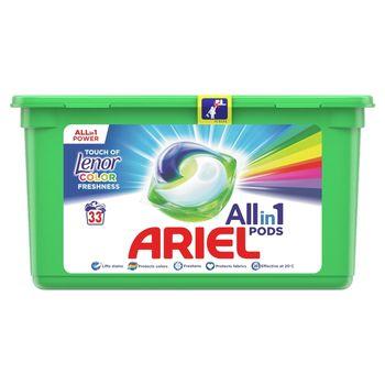Ariel Allin1 PODS +Lenor Unstoppables Kapsułki do prania, 33prań