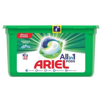 Ariel Allin1 Pods Mountain Spring Kapsułki do prania, 33prań