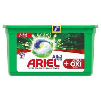 Ariel Allin1 Pods +OXI Kapsułki do prania, 31prań