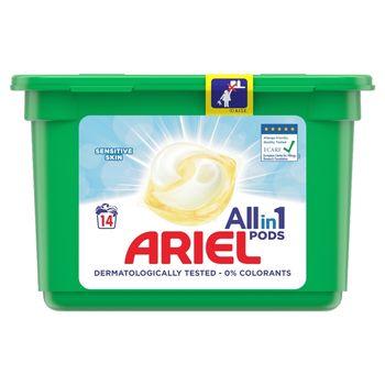 Ariel Allin1 Pods Sensitive Kapsułki do prania, 14prań