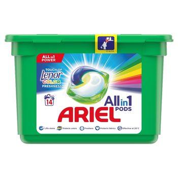 Ariel Allin1 Pods Touch of Lenor Fresh Color Kapsułki do prania, 14prań