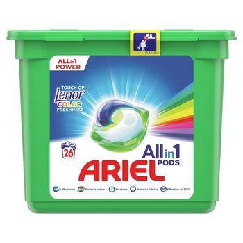 Ariel Allin1 PODS +Lenor Unstoppables Kapsułki do prania, 26prań
