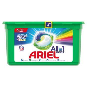 Ariel Allin1 Pods Touch of Lenor Fresh Color Kapsułki do prania, 33prań